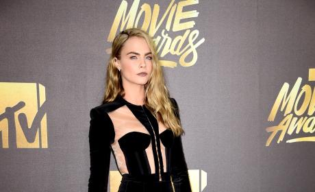 Cara Delevingne: 2016 MTV Movie Awards