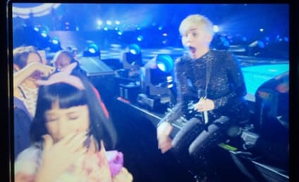 Katy Perry on Miley Cyrus Kiss: Not a Big Deal! Actually Super Cool!
