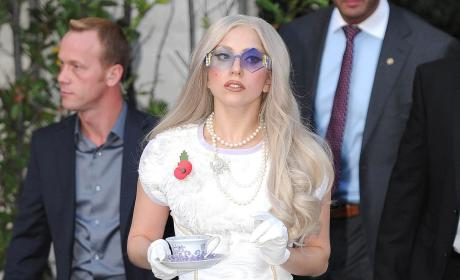Tea Time With Lady Gaga