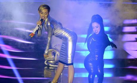 Miley Cyrus at the EMAs