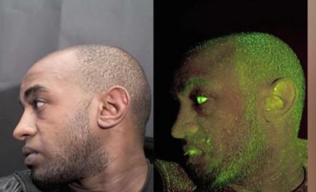 Car Thief Busted By Neon Green Spray