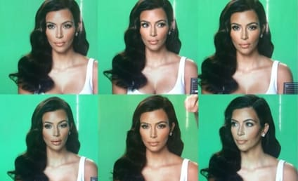 "Kim Kardashian Mocks Her ""Many Moods"" on Instagram"