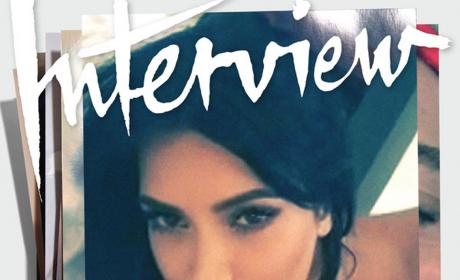 Kim Kardashian Writhes in Bed for Interview Magazine