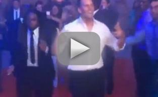 Tom Brady Dances at Super Bowl Ring Party