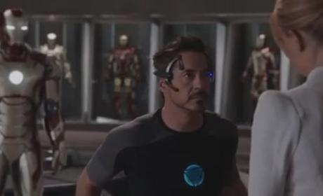 Iron Man 3 Clip: A Man in a Can