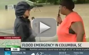 Totino's Lady Rescues Pizza Rolls From Flood, Gives Amazing Interview
