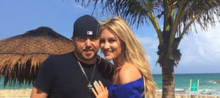 Jason Aldean, Brittany Kerr Photo