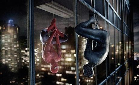 Two Spider Men
