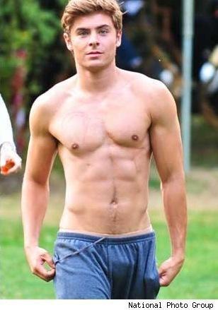 Zac Shirtless