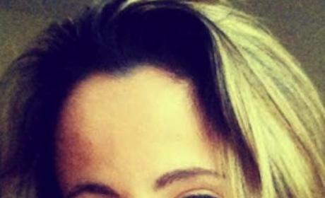 Jenelle Evans' Face