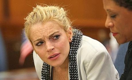 Lindsay Lohan: Living in Denial, Trying to Pimp Out Ankle Monitor Pics