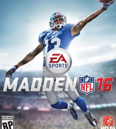 Madden sixteen Cover