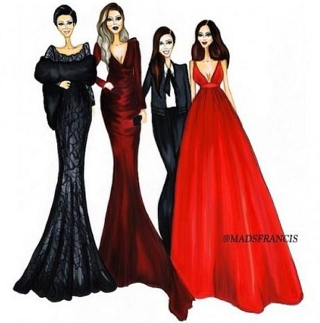 Kardashians Artwork