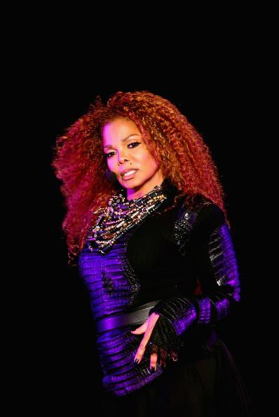 Janet Jackson on Stage