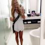 Maci Bookout Bachelorette White Dress