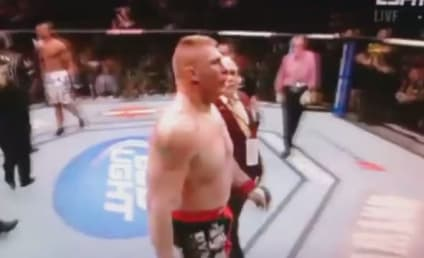 Brock Lesnar Retires From UFC After Loss to Alistair Overeem