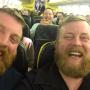 Total Strangers Meet on Plane, Are Each Other's Total Dopplegangers