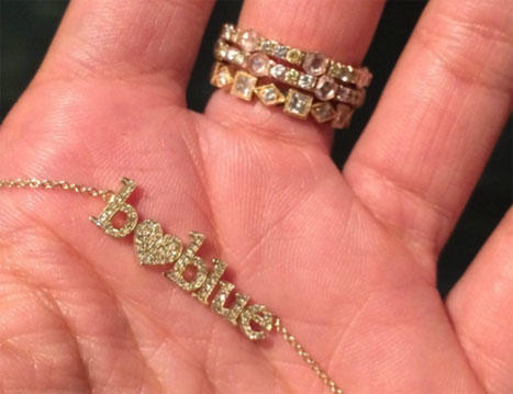 Beyonce and Blue Ivy Carter Necklace