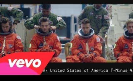 "One Direction Blasts Off in ""Drag Me Down"" Music Video"
