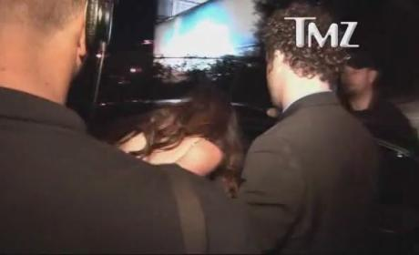 Paz de la Huerta at Golden Globes After-Party: Denied!
