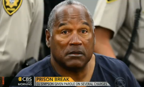 O.J. Simpson: Caught Stealing Cookies From Prison Cafeteria!