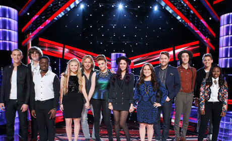 The Voice Live Playoff Results: Who Made the Top 12?