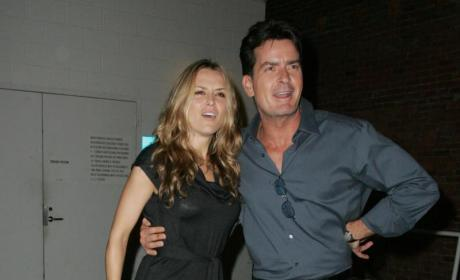 Brooke Mueller and Charlie Sheen Picture