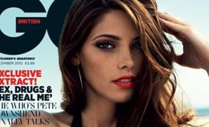 Ashley Greene Goes Retro, Gorgeous for British GQ