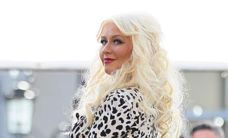 Christina Aguilera Continues Baby Buying Spree