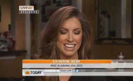 Katherine Webb on The Today Show: No Apology Necessary!