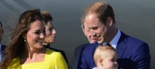 William, Kate and George Picture