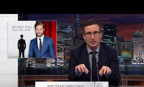 """John Oliver Auditions for Fifty Shades of Grey: Ready for """"Butt Stuff!"""""""