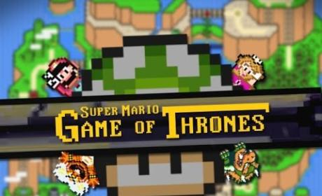 Game of Thrones Super Mario Credits: Pure Nerdy Hilarity