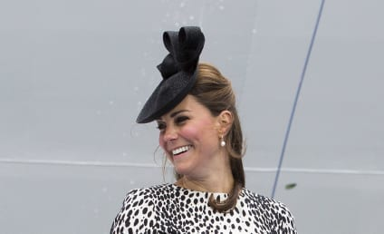Kate Middleton Unveils Royal Princess Cruise Ship in Final Pre-Baby Appearance
