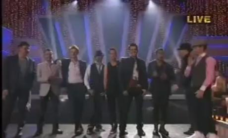 New Kids on the Block, Backstreet Boys Perform on Dancing With the Stars
