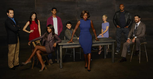 How to Get Away with Murder Cast Pic