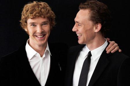 Tom Hiddleston and Benedict Cumberbatch