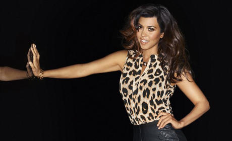 Kourtney Kardashian for The Kardashian Kollection