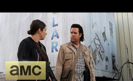 The Walking Dead Season 5 Episode 14 Clip - Eugene the Coward