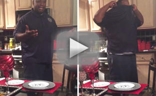Husband Has Epic Reaction to Wife's Pregnancy News