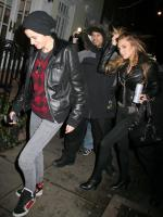 Lindsay Lohan and Samantha Ronson Get Quiet