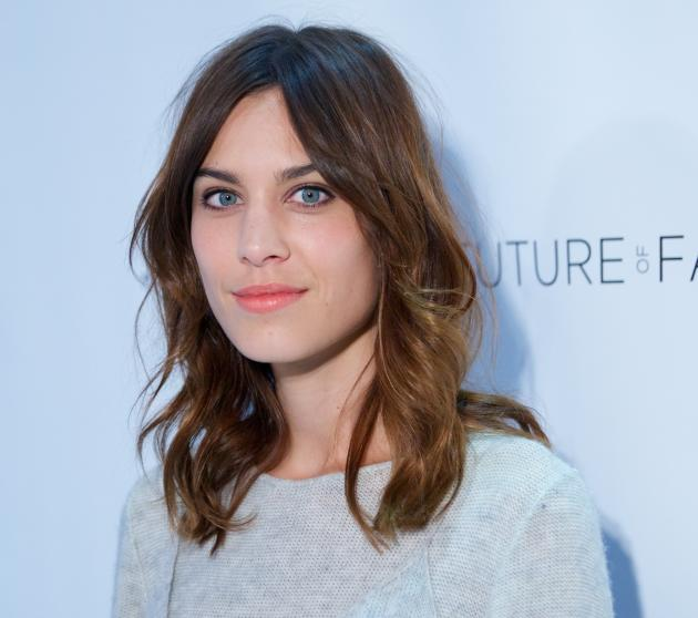 Alexa Chung Close-Up