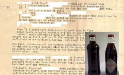 Coca-Cola Formula: Found at Estate Sale, Yours For $15 Million?