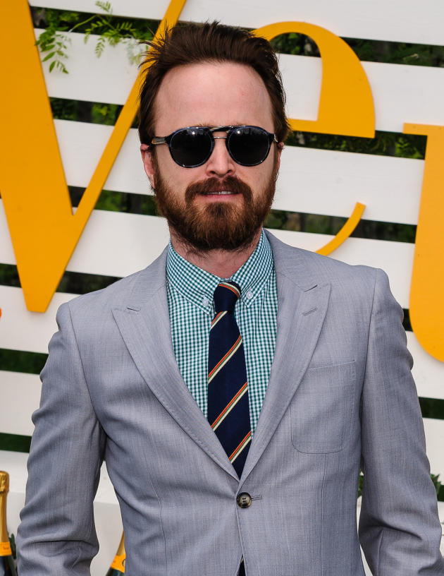 Aaron Paul with a Beard