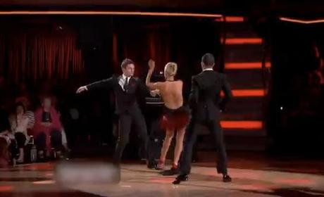 Katherine Jenkins Wardrobe Malfunction Doesn't Slow Dancing With the Stars Favorite