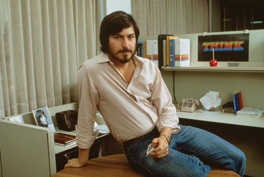 Classic Steve Jobs Photo