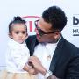 Chris Brown Walks Billboard Music Awards Red Carpet with Royalty!