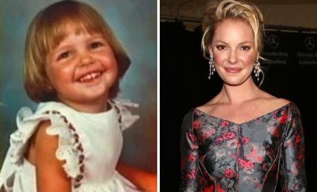 Katherine Heigl as a Kid