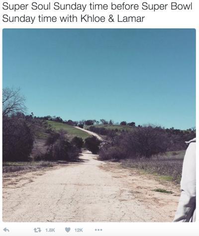 "Kim Kardashian Tweets ""Super Soul Sunday"""