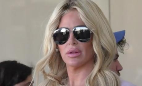 Kim Zolciak: Tight Pants and Loose Lips at LAX